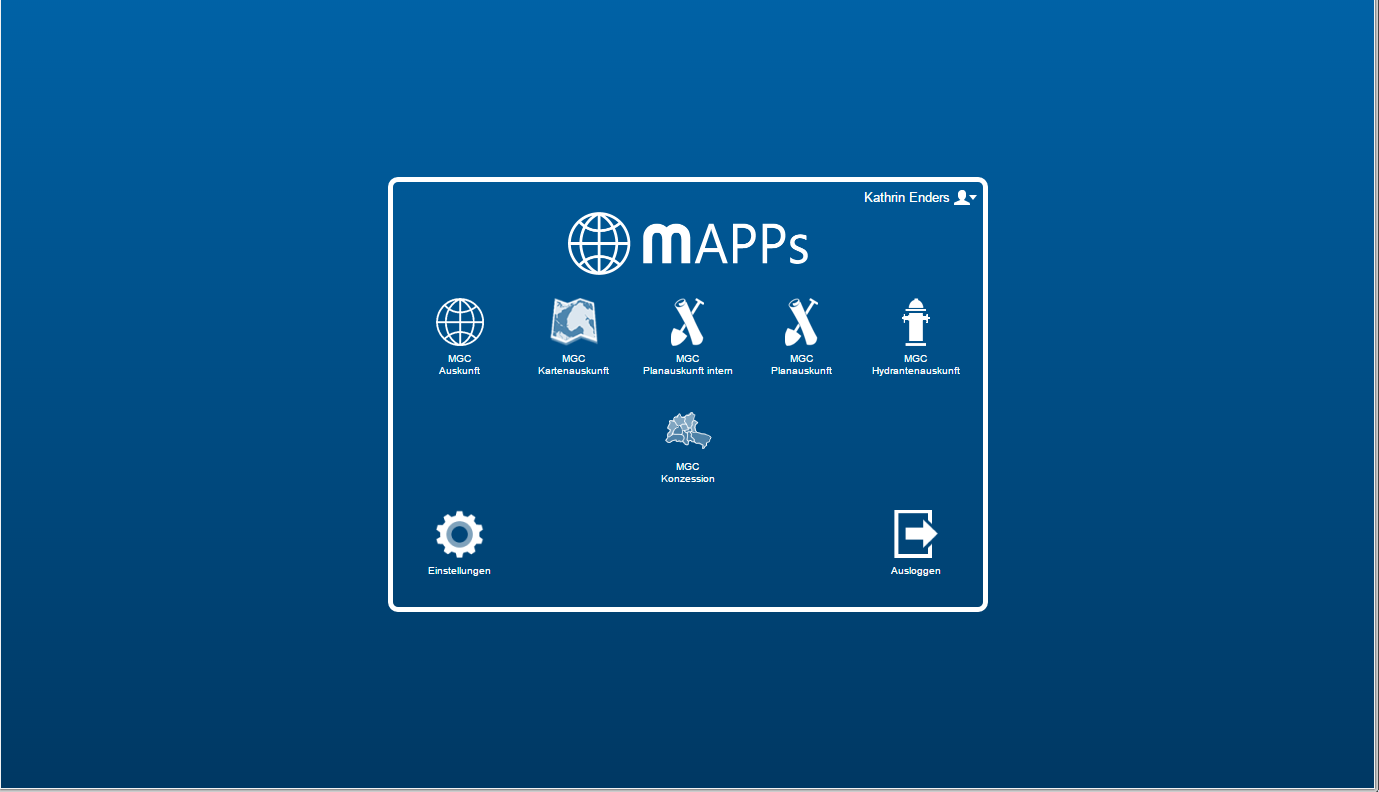 MGC Web - Funktion Mapps