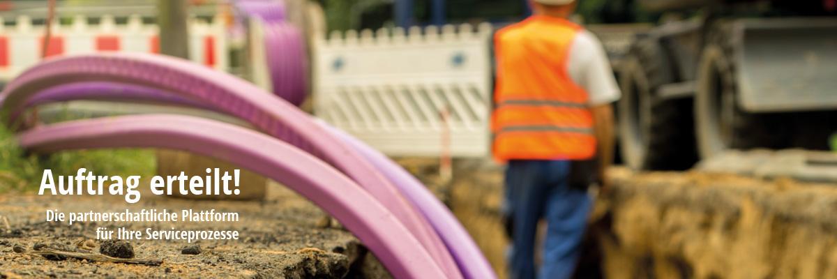 Dienstleisterportal für Netzbau und Instandhaltung