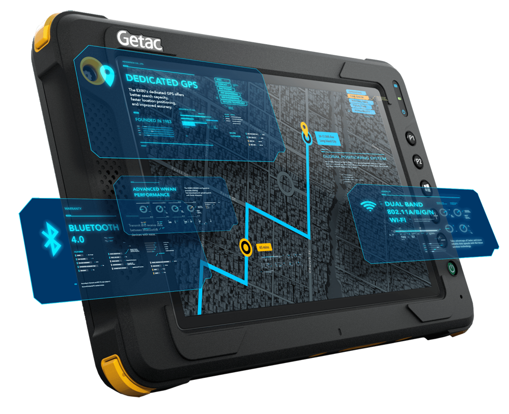 Getac EX80 - Features