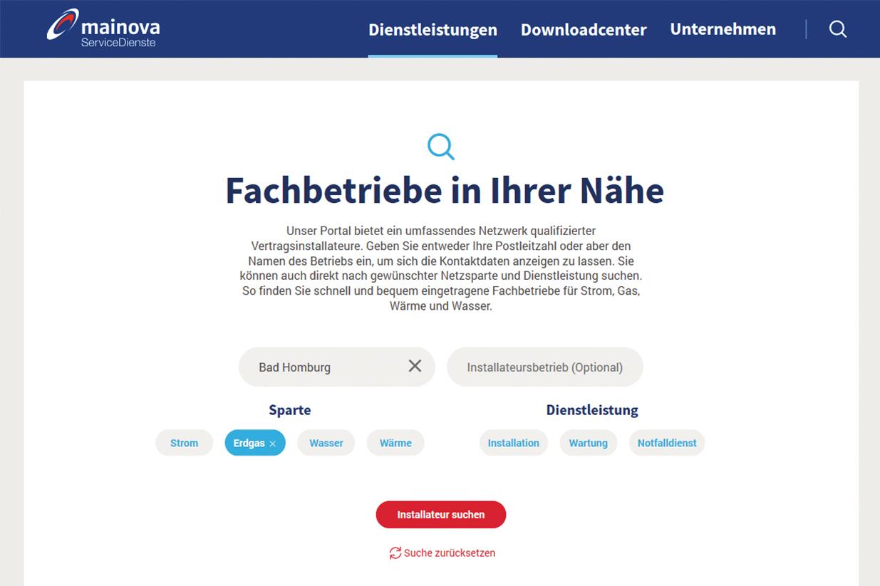ENM-Portal für Netzanschlüsse und Inbetriebsetzung