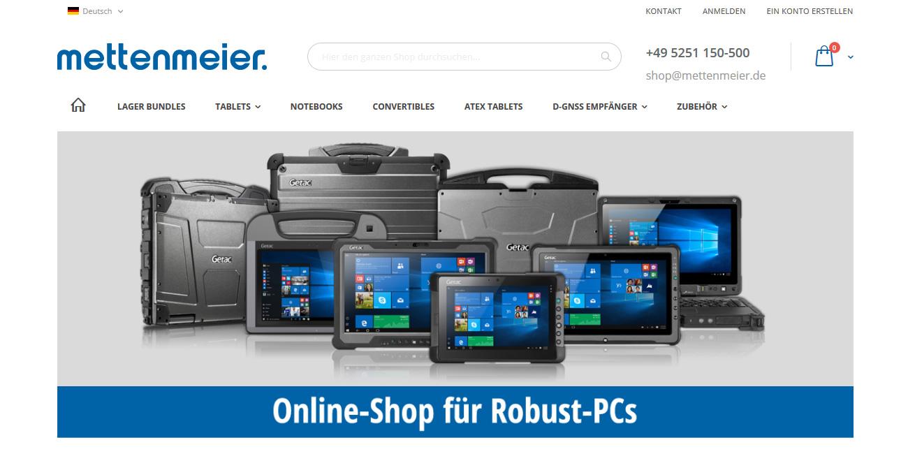 Mettenmeier Onlineshop