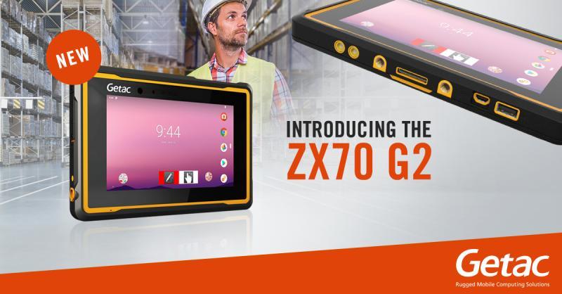 Der brandneue Getac ZX70 G2